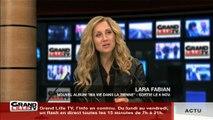 Le nouvel album de Lara Fabian