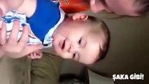 İlk defa gülen bebekler , Komik bebek anları , Bebekler ve aileleri - 2015 - HD