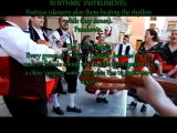"""C.R.A. """"Comarca Oriental"""" Barinas-Abanilla (Murcia) y """"Grupo de Coros y Danzas Santa Cruz"""": learning how to dance jotas."""