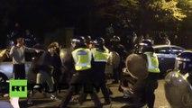 Une rave-party sauvage entachée par des émeutes avec la police à Londres