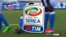 Allan Gets Injured Genoa 0-0 Napoli Serie A 1.11.2015 HD
