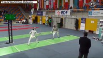CdM sabre dames Orléans 2015 - 3e place France vs Italie