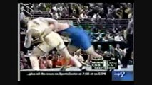 Brock Lesnar gets beat in an amature wrestling match against Stephen Neal part 1