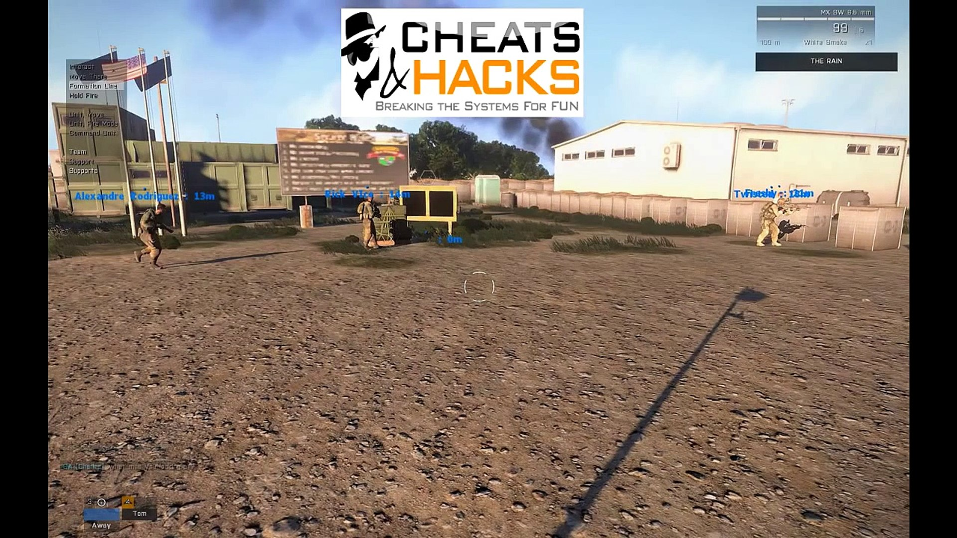 Arma 3 Hacks [Multiplayer] Aimbot, Spawn Items, Trolling [Working]