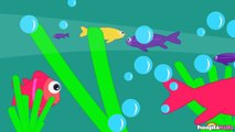 12345 Once I Caught A Fish Alive | Fun Nursery Rhymes by Hooplakidz