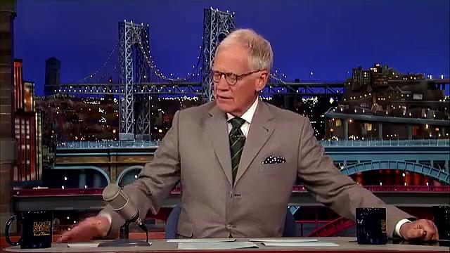 David Letterman Top Ten Things Overheard in a Hot Tub