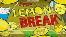 Adventure Time - Lemon Break - Adventure Time Games [ Full Games ]