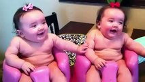 Funny Twin babies Laughing, Crying, and then Laughing again - Funny Babies Videos