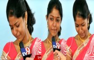 Singer madhu priya crying in live show with TV9