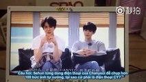 [Vietsub] EXO Second Box - Sehun & Chanyeol Cut [4-7] SEHUN TỰ SƯỚNG♥