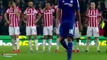 Stoke beat Chelsea on penalties after 1-1 draw (Penalty Shootout)