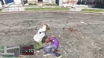 GTA V - Crawl Injury Mod (injured peds start crawling - personajes heridos se arrastran)