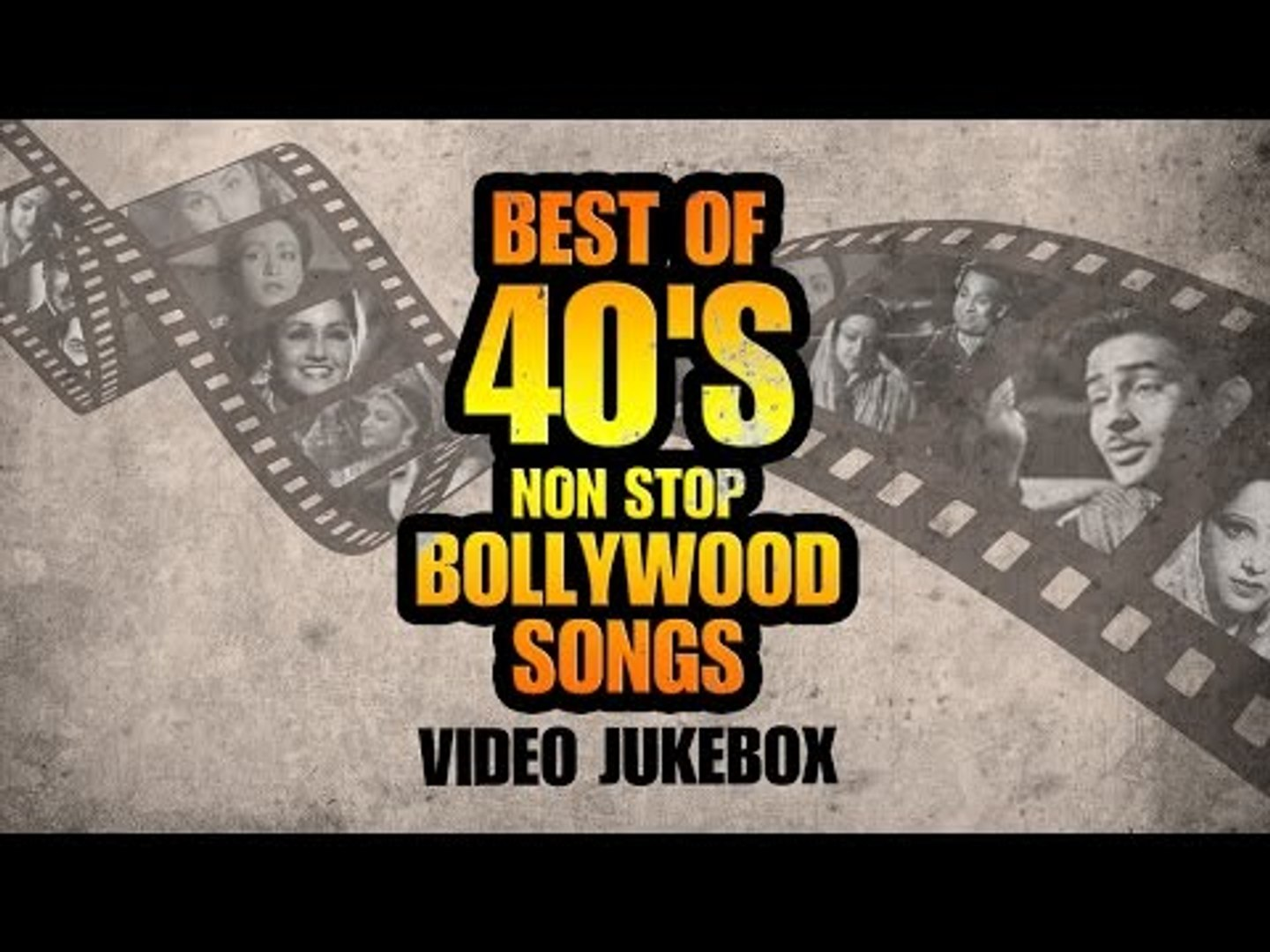 Best of 40's - Non Stop Bollywood Songs - Old Hindi Hits
