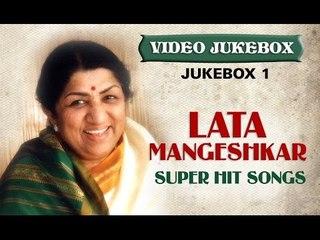 Lata Mangeshkar Super hit Songs - Jukebox 1 - Old Hindi Melodies