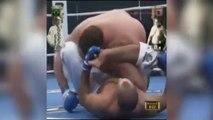 Le spécialiste en jiu-jitsu Royce Gracie affronte le champion de sumo Akebono