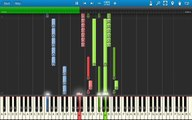 B.o.B ft. Hayley Williams of Paramore - Airplanes - Piano Tutorial - Synthesia