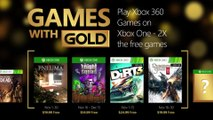 Double FREE Games with Gold November 2015 (Xbox One/Xbox 360) HD