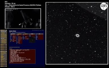 IRiS - Balade cosmique en direct avec 2 télescopes pilotables à distance