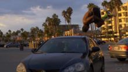 Epic Flipping Over Cars