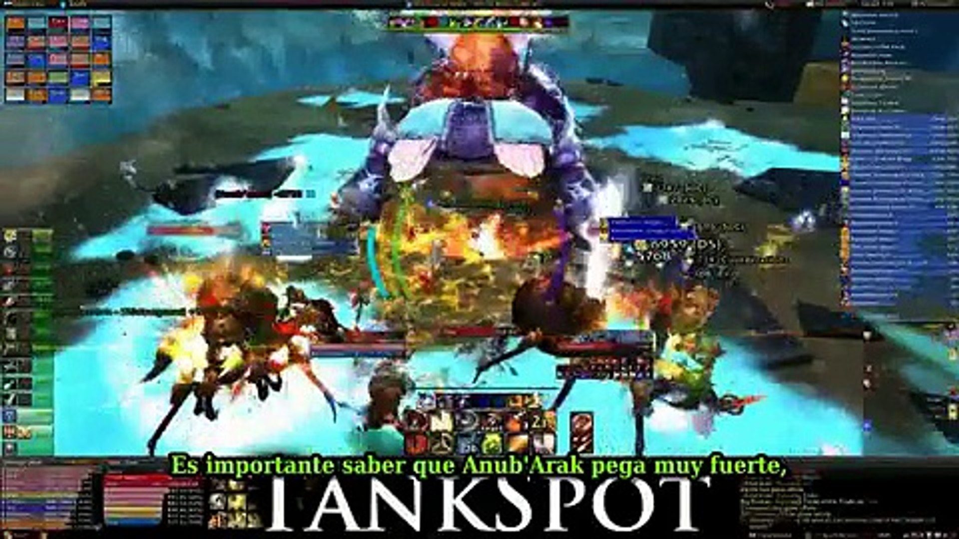 Guia Anubarak Tutorial 335 World Of Warcraft Prueba Del Cruzado