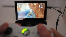 Using Xbox controller on Microsoft Surface