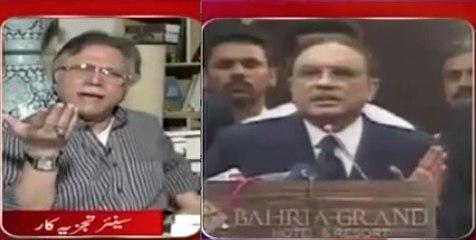 Zardari ne Phir (NRO kur ke) Waapus Aaana He to Muje Pakistan se Jaana He - Hassan Nisar
