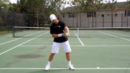 How To Hit Topspin on Forehand & Backhand