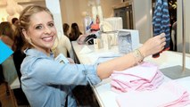 Sarah Michelle Gellar Isn't Worried About Wrinkles