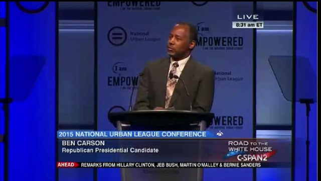 Ben Carson: There's been a lot of change, not a lot of hope National Urban League