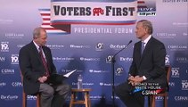 2016 Republican Presidential Debate Voters First Forum George Pataki, Rand Paul