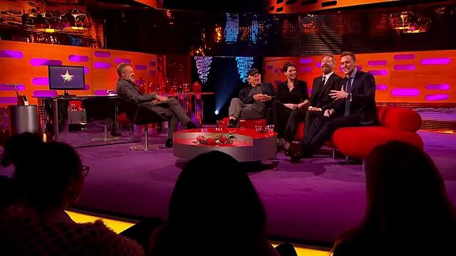 Robert De Niro Impressed By Tom Hiddleston's Robert De Niro Impression – The Graham Norton Show