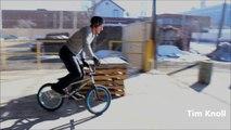 New bike stunts- Parkour BMX Bike Stunts