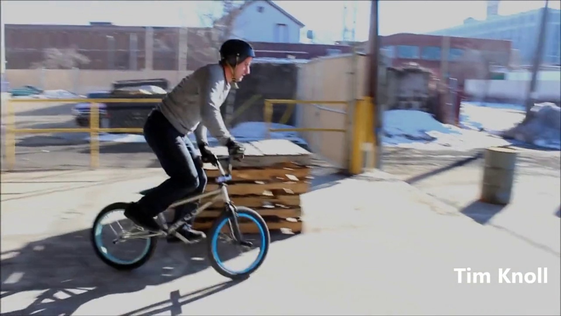 New bike stunts- Parkour BMX Bike Stunts