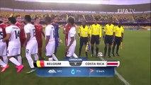 Belgique - Costa Rica U17 Coupe du Monde au Chili
