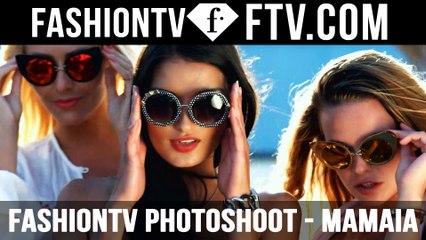 Sexy Photoshoot on Mamaia Beach with the FashionTV Models | FTV.com