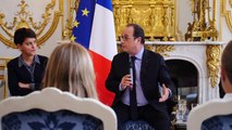 Climat, économies d'énergie, COP21 : dix collégiens interrogent François Hollande pour France Info