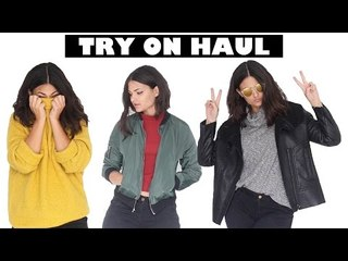 TRY ON HAUL l LOOKBOOK AUTOMNE