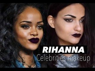 Rihanna Inspired Makeup l Vamp Automnal