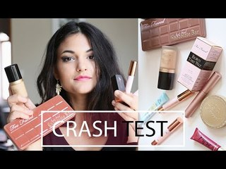 CHATTY GRWM l CRASH TEST [ Kiko, Too faced et Elsa makeup ]