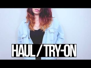 HAUL/TRY-ON | Because Cats