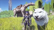 Ark: Survival Evolved - Flying Fortress, Sniper Rifle, Tranq Darts AND MORE!