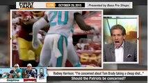 ESPN First Take - Tom Bradys Performance at Patriots vs. Dolphins ?