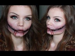 Sourire de l'Ange - Halloween Make up Tutorial ♥