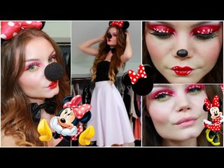 Minnie Mouse Make up Tutorial ♥