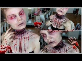 Gorge tranchée -Throat cut Make up Tutorial ♥