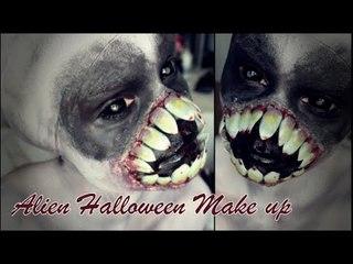 Alien - Halloween Make Up Tutorial ♥