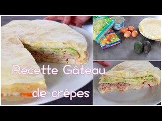 Recette - Gâteau de crêpes ♥