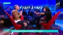 Gros clash entre Nathalie et Vivian en direct - ZAPPING PEOPLE DU 03/11/2015