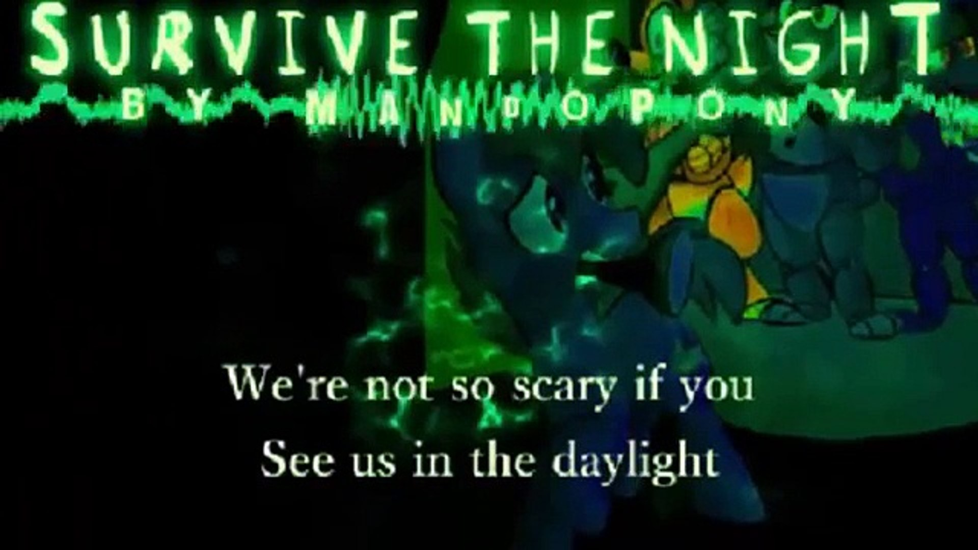 ✔ Survive The Night 1 Hour    MandoPony FNAF song    Five Nights At Freddys  2 Song