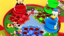 Disney MICKEY MOUSE Clubhouse Board Game Hi Ho Cherry O Video Toy Review Pluto Donald Goof